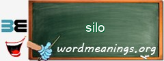 WordMeaning blackboard for silo